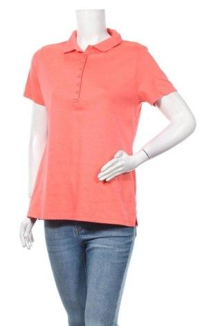 Дамска тениска Lands' End, Размер M, Цвят Оранжев, Памук, Цена 4,20лв.