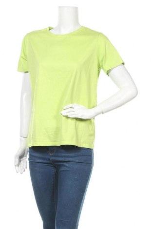 Дамска тениска Land's End, Размер M, Цвят Зелен, Памук, Цена 12,50лв.