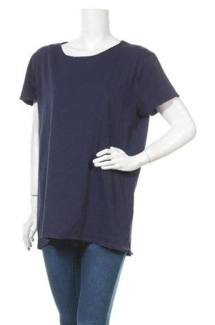 Дамска тениска Lawrence Grey, Размер L, Цвят Син, Памук, Цена 57,67лв.