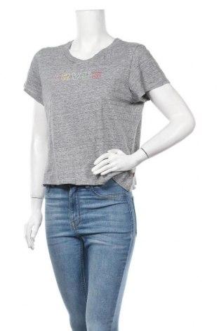 Дамска тениска Levi's, Размер L, Цвят Сив, Цена 25,20лв.