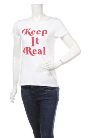 Дамска тениска Mango, Размер M, Цвят Бял, Цена 11,60лв.