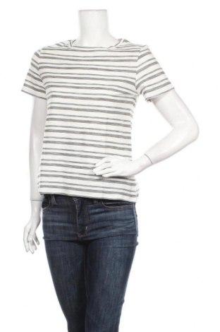 Дамска тениска Mango, Размер L, Цвят Бял, Памук, Цена 13,44лв.