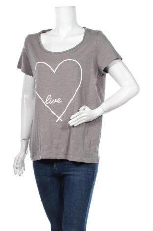 Дамска тениска Mark Adam, Размер XL, Цвят Сив, Цена 15,75лв.