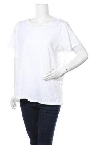 Дамска тениска Marks & Spencer, Размер XXL, Цвят Бял, 100% памук, Цена 27,41лв.