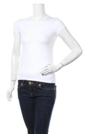 Дамска тениска Massimo Dutti, Размер S, Цвят Бял, 92% памук, 8% еластан, Цена 13,50лв.