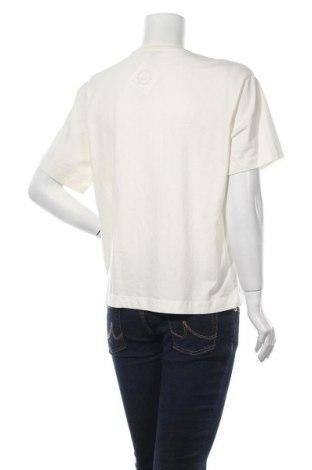Дамска тениска Massimo Dutti, Размер L, Цвят Екрю, Памук, Цена 18,90лв.