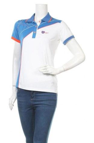 Дамска тениска Masters, Размер M, Цвят Многоцветен, 92% полиестер, 8% еластан, Цена 16,80лв.