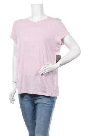 Γυναικείο t-shirt Max Studio, Μέγεθος XL, Χρώμα Ρόζ , Βαμβάκι, Τιμή 23,19€