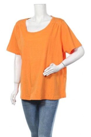 Дамска тениска Maxi Blue, Размер XXL, Цвят Оранжев, Памук, Цена 15,75лв.
