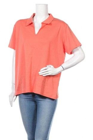Дамска тениска Michele Boyard, Размер 3XL, Цвят Оранжев, 55% полиестер, 45% памук, Цена 5,67лв.