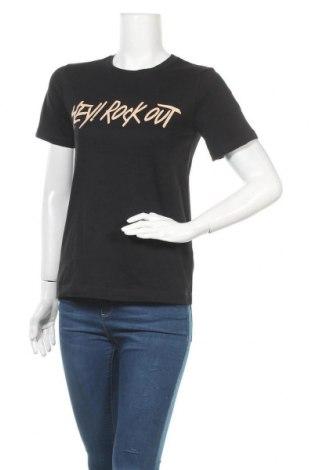 Дамска тениска Mo & Co, Размер S, Цвят Черен, Цена 15,49лв.