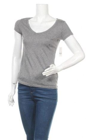 Γυναικείο t-shirt New York & Company, Μέγεθος XS, Χρώμα Γκρί, Βαμβάκι, Τιμή 13,80€