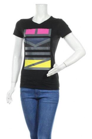 Γυναικείο t-shirt Nike, Μέγεθος S, Χρώμα Μαύρο, 60% βαμβάκι, 40% πολυεστέρας, Τιμή 18,19€