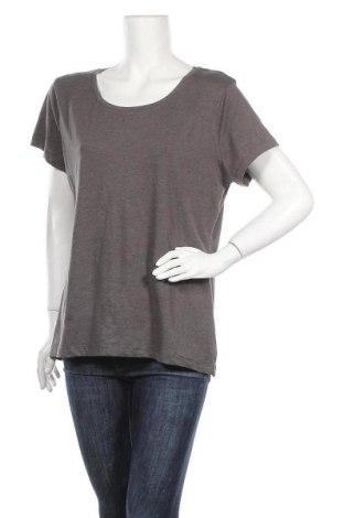 Дамска тениска Now, Размер XL, Цвят Сив, Памук, полиестер, еластан, Цена 9,24лв.