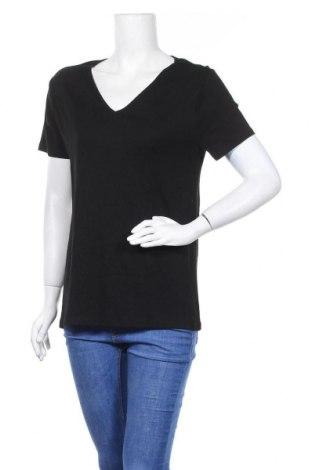 Дамска тениска Now, Размер XL, Цвят Черен, Памук, Цена 10,08лв.