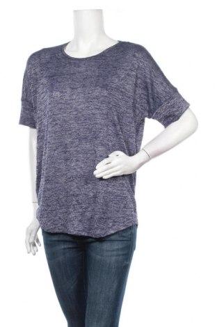 Дамска тениска Now, Размер XL, Цвят Син, Вискоза, полиестер, Цена 12,60лв.