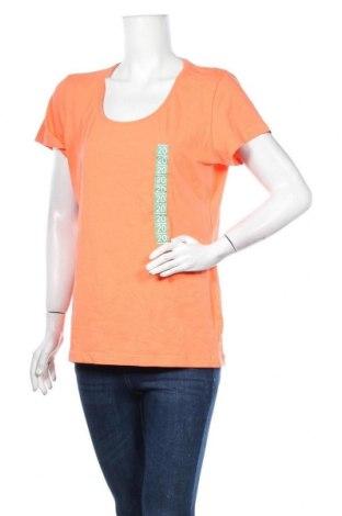 Дамска тениска Now, Размер XL, Цвят Оранжев, Памук, еластан, Цена 12,29лв.