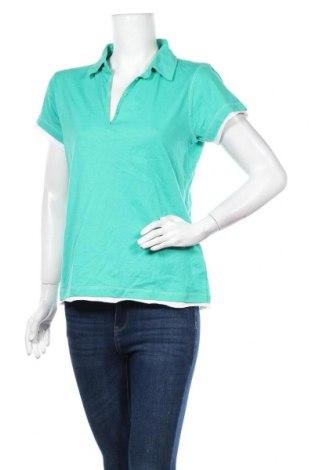 Дамска тениска Now, Размер XL, Цвят Зелен, Памук, Цена 8,82лв.