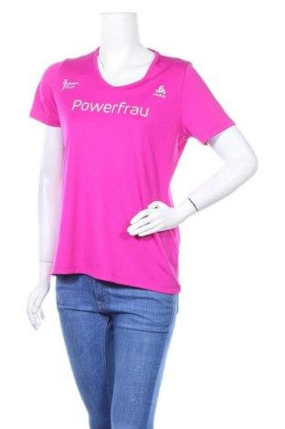 Дамска тениска Odlo, Размер M, Цвят Розов, Полиестер, Цена 16,80лв.