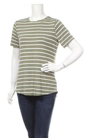 Дамска тениска Old Navy, Размер M, Цвят Зелен, 95% вискоза, 5% еластан, Цена 11,76лв.