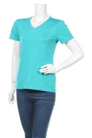 Дамска тениска PUMA, Размер M, Цвят Син, Цена 15,12лв.