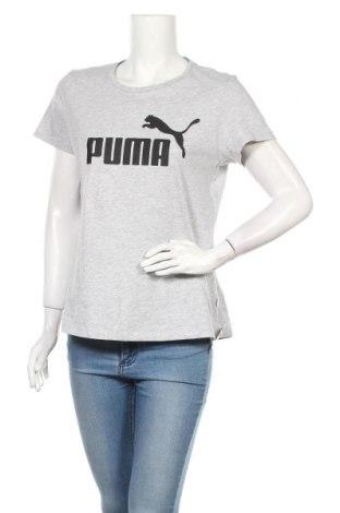 Дамска тениска PUMA, Размер L, Цвят Сив, Цена 21,00лв.