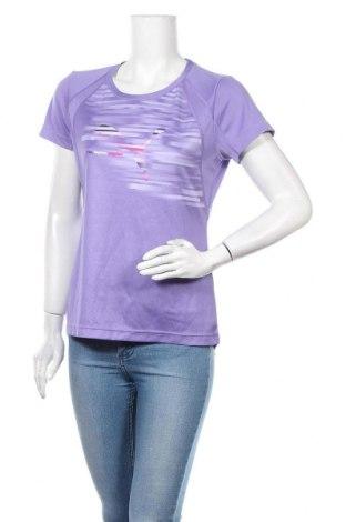Дамска тениска PUMA, Размер M, Цвят Лилав, Цена 23,52лв.