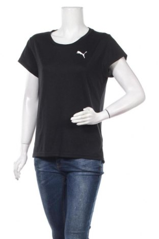 Дамска тениска PUMA, Размер S, Цвят Черен, 65% полиестер, 35% вискоза, Цена 25,20лв.