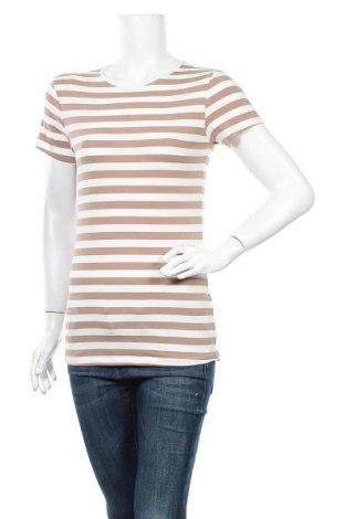 Дамска тениска Primark, Размер S, Цвят Кафяв, 95% памук, 5% еластан, Цена 6,62лв.