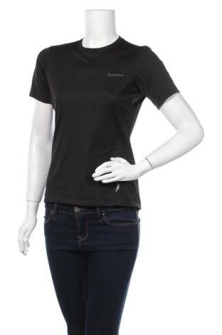 Дамска тениска Quechua, Размер S, Цвят Черен, Полиестер, Цена 10,29лв.