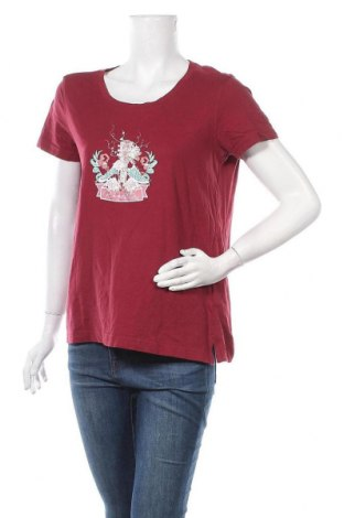 Дамска тениска Regatta, Размер L, Цвят Червен, Памук, Цена 14,28лв.