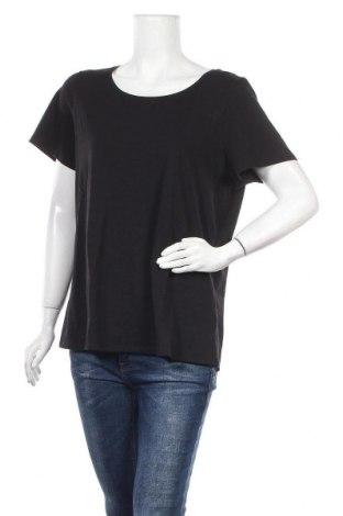 Γυναικείο t-shirt Reitmans, Μέγεθος XXL, Χρώμα Μαύρο, 95% βαμβάκι, 5% ελαστάνη, Τιμή 8,31€