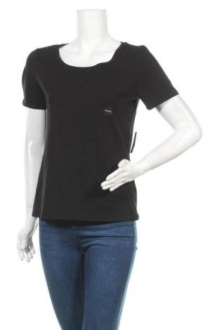 Дамска тениска Reitmans, Размер M, Цвят Черен, 95% памук, 5% еластан, Цена 7,61лв.