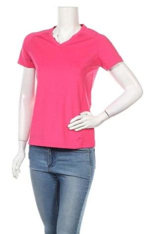 Дамска тениска Shamp, Размер S, Цвят Розов, 95% полиестер, 5% еластан, Цена 6,61лв.
