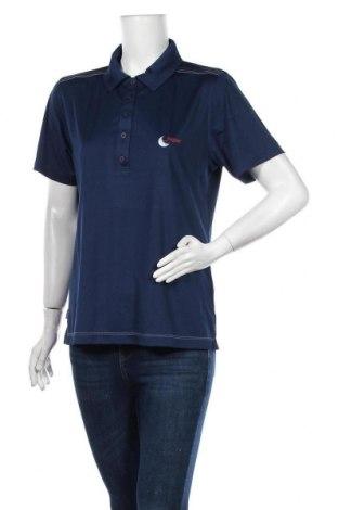Дамска тениска Slazenger, Размер L, Цвят Син, Полиестер, Цена 7,56лв.