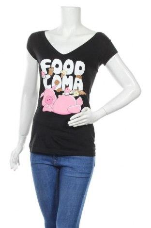 Дамска тениска Streetwear Society, Размер M, Цвят Черен, Памук, Цена 12,29лв.