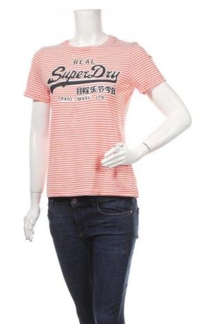 Дамска тениска Superdry, Размер M, Цвят Многоцветен, Памук, Цена 28,56лв.