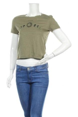 Дамска тениска Tally Weijl, Размер S, Цвят Зелен, Цена 11,60лв.