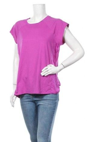 Дамска тениска Target, Размер XL, Цвят Лилав, Полиестер, еластан, Цена 4,46лв.