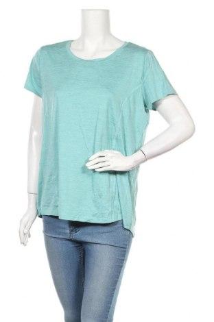 Дамска тениска Target, Размер XL, Цвят Зелен, Полиестер, еластан, Цена 10,40лв.