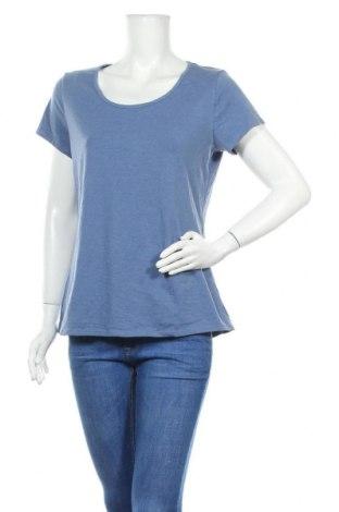 Дамска тениска Target, Размер L, Цвят Син, Памук, полиестер, еластан, Цена 11,76лв.