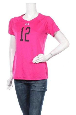 Дамска тениска Under Armour, Размер L, Цвят Розов, Цена 16,38лв.