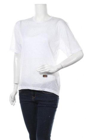 Дамска тениска Uno, Размер XL, Цвят Бял, Полиестер, Цена 9,19лв.