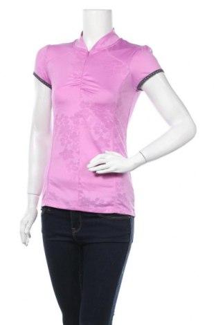 Дамска тениска Urban Active, Размер S, Цвят Розов, 95% полиестер, 5% еластан, Цена 4,46лв.