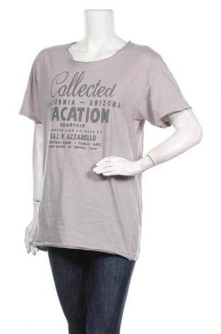 Дамска тениска Urban Vintage, Размер XXL, Цвят Сив, Памук, Цена 16,80лв.