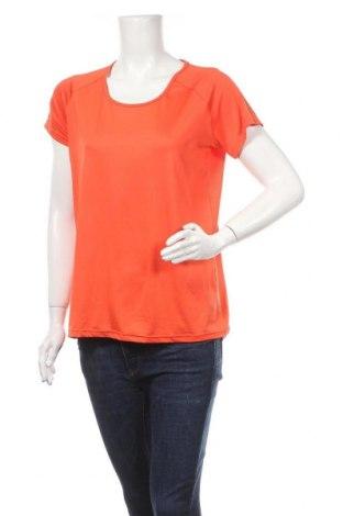 Дамска тениска Work Out, Размер S, Цвят Оранжев, 92% полиестер, 8% еластан, Цена 4,46лв.