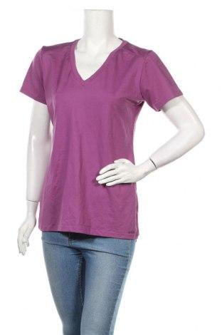 Дамска тениска Zoic, Размер XL, Цвят Лилав, 92% полиамид, 8% еластан, Цена 4,20лв.