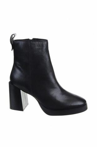 Дамски боти ASRA, Размер 38, Цвят Черен, Естествена кожа, Цена 126,75лв.