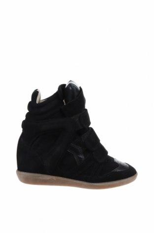 Дамски обувки Isabel Marant, Размер 36, Цвят Черен, Естествен велур, Цена 168,84лв.