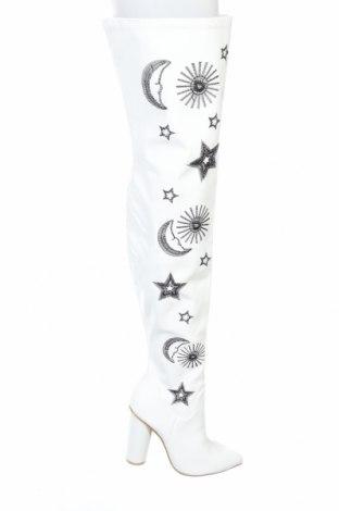 Дамски ботуши Koi footwear, Размер 40, Цвят Бял, Еко кожа, Цена 60,04лв.